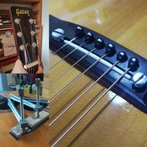 Réglage et réparations guitares - luthier Mélopée (Toulouse)