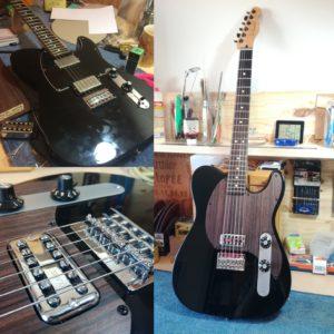 Personnalisation guitares et ukulélés - Luthier Mélopée (Toulouse)