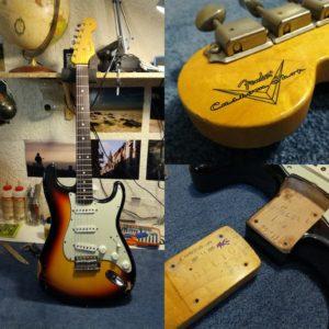 Réglage et réparations guitares Fender - Luthier Mélopée (Toulouse)