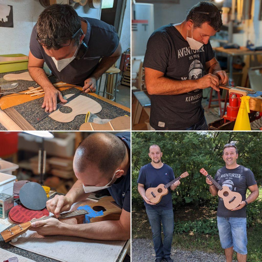 Stage lutherie avec Mélopée - Viens fabriquer ton propre ukulélé haut de gamme entièrement personnalisable