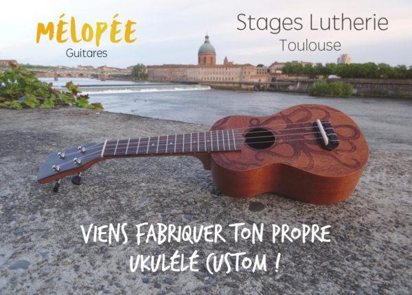 Stage lutherie Mélopée Toulouse