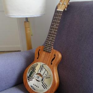 Ukulélé Concert Resonator luthier Mélopée (SBUK024)