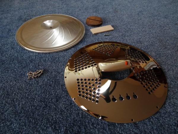 kit resonator ukulélé cigarbox - luthier Mélopée