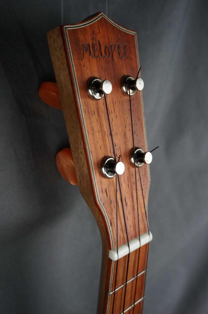 Ukulele Concert Resonator Mélopée Padouk