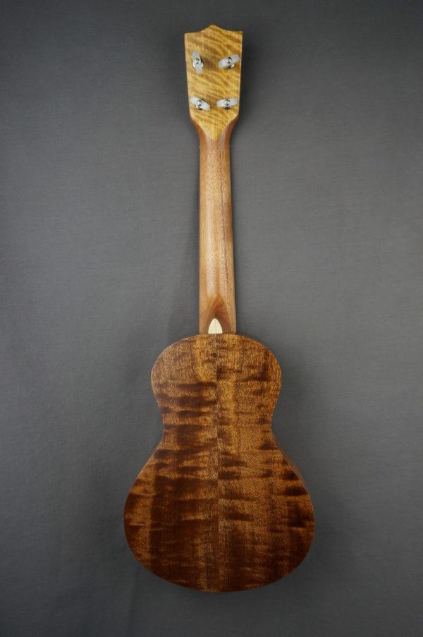 Ukulélé Concert Mélopée Sapele flammé SBUK041