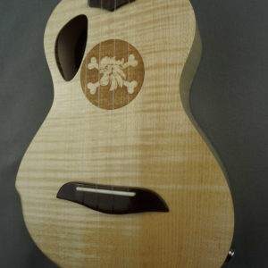 Ukulélé Concert Mélopée Erable flammé (solid flamed maple ukulele)