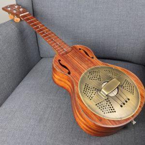 Ukulélé Mélopée Concert Resonator Padouk