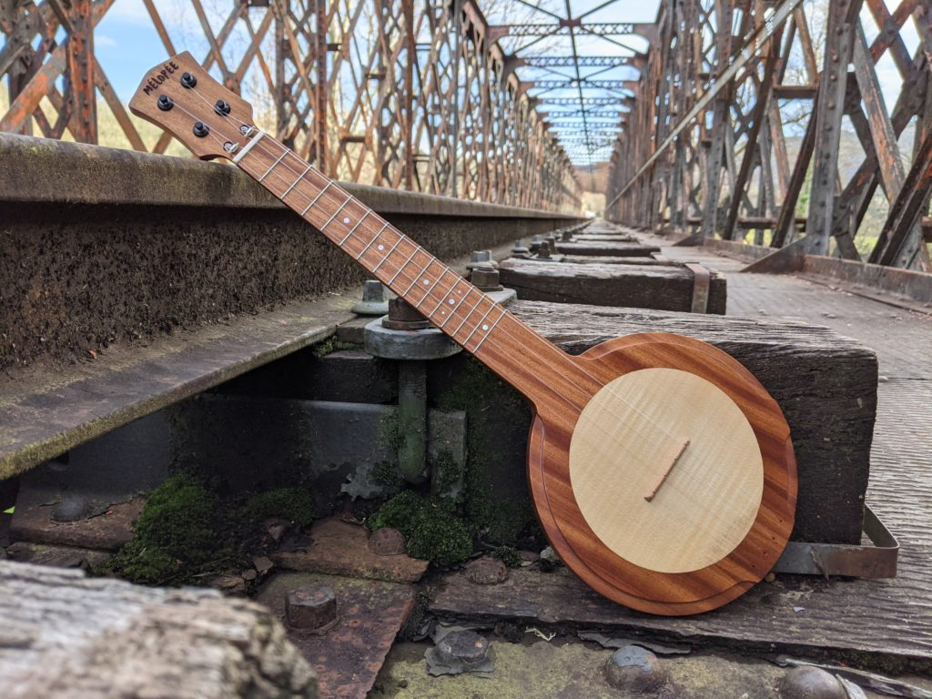 Ukulélé Mélopée Kaikoura (travel ukulele) - Fabriqué en France