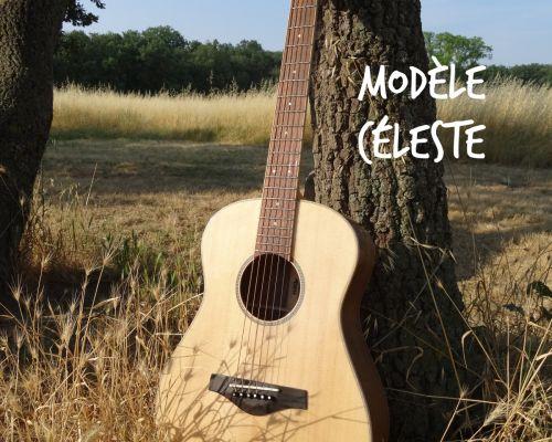 """Guitare de voyage Mélopée """"Céleste"""" - Plus d'infos sur melopee.fr"""